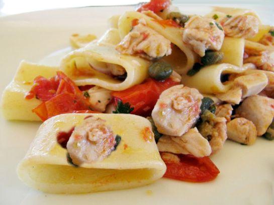 Pates calamarata aux calmars recette napolitaine - Pates aux fruits de mer recette italienne ...