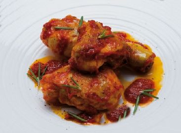 Poulet potacchio - Pollo in potacchio