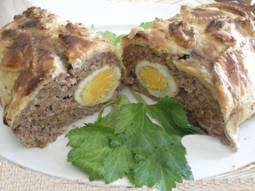 Polpettone (pain de viande à l'italienne) en croute recette